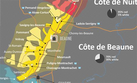 Can You Match The Wine To Its Region Of Origin by A Simple Guide To Burgundy Wine With Maps Wine Folly