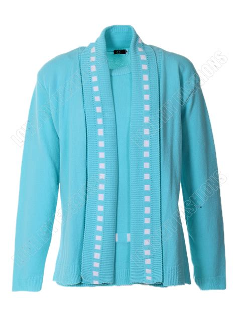 Cardigan Layer womens set 2 in 1 cardigan two layer sleeve sweater knitted jumper top ebay