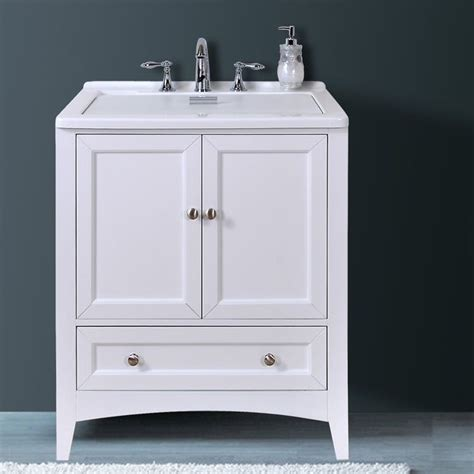 Laundry Vanity by Manhattan White 30 50 Inch All In One Laundry Vanity Sink