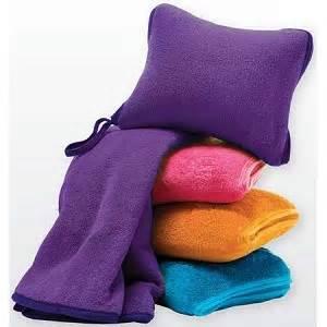 nap travel set fleece pillow blanket