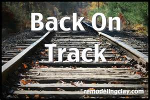 On Track Back On Track Admitting You A Problem Isn T Enough