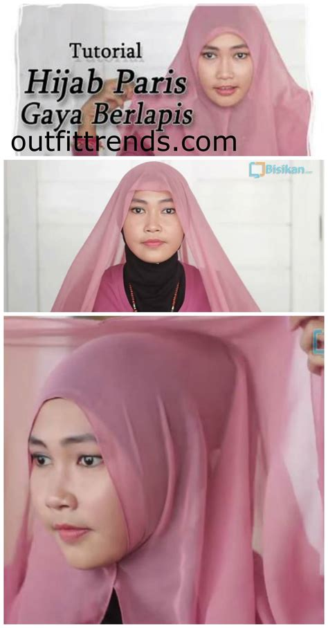 tutorial hijab gaya simple 10 simple hijab paris tutorials you can do less than minute