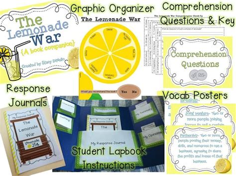 war book report 17 best images about lemonade war project on