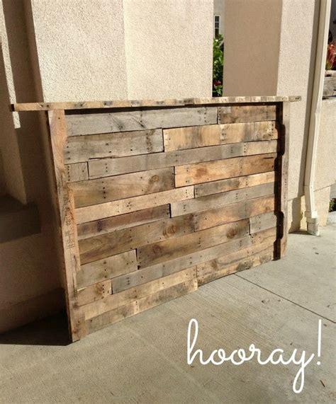 pinterest pallet headboard headboard pallet tablediy furniture diy wood designs