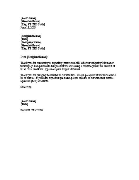 Business Letter Sles Apology business letter billing error 28 images mistake