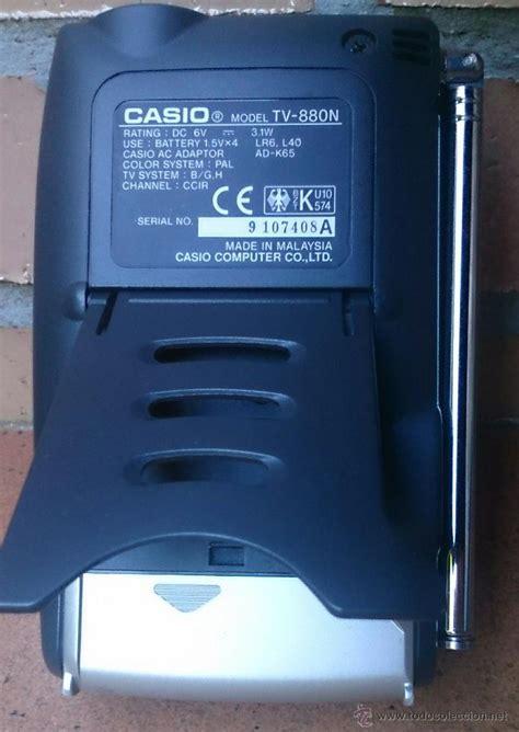 Casio Mini Tv m 237 ni televisi 243 n casio tv 880 a 241 os 90 comprar en