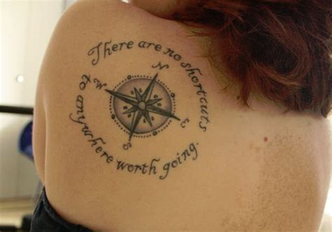 compass tattoo with bible verse 14 cool compass tattoo for girls