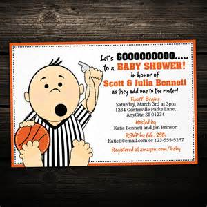basketball referee tailgate printable baby shower or birthday