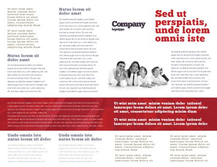 3d brochure template 3d family brochure template design and layout