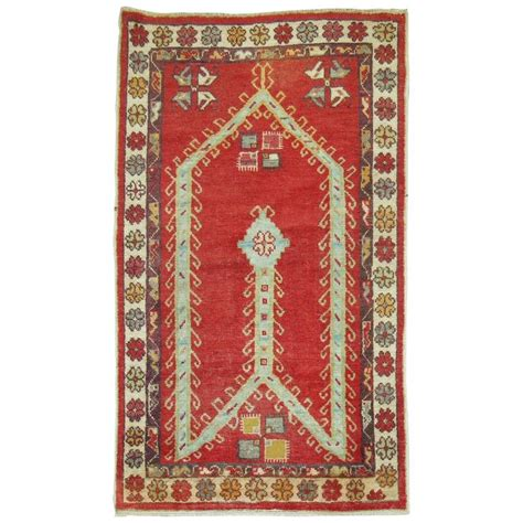 Prayer Mats For Sale by Antique Turkish Oushak Prayer Rug For Sale At 1stdibs