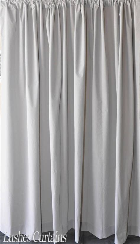 Extra Length Gray 120 Inch H Velvet Curtain Long Panel