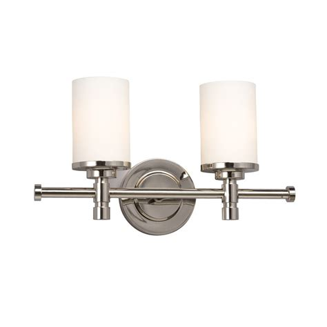 2 light bathroom vanity light shop galaxy 2 light brighton chrome standard bathroom