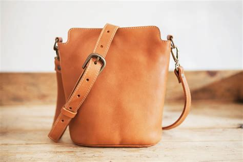 Handmade Leather Purses And Bags - cowhide leather bag small leather handbag brown leather