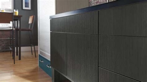 veneer textured high gloss laminate cabinets omega