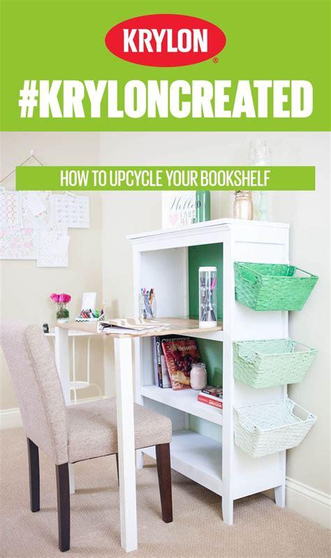 turn bookshelf into desk best home design 2018