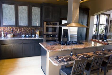black kitchen cabinets design island kitchens design oppeinhome com gourmet kitchens and cabinets hannegan construction