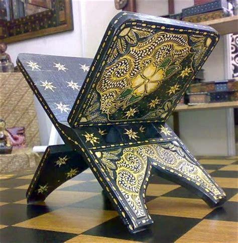 Rehal Tempat Baca Al Quran Besar seni visual laman ilmu dan kreativiti rehal estetika dan falsafah