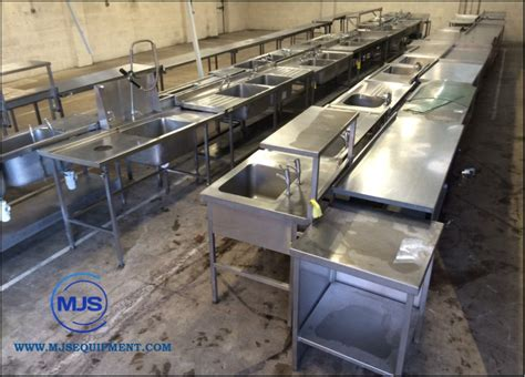 used stainless steel sinks secondhand generators mjs catering and refrigeration
