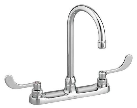 kitchen faucet gpm american standard gn kitchen faucet 1 5 gpm 5in spout