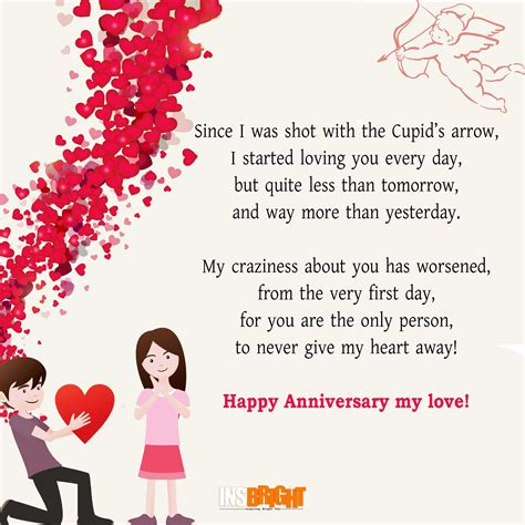 Wedding Anniversary Card Rhymes by Best Anniversary Poems For Whatsapp Happy Wedding