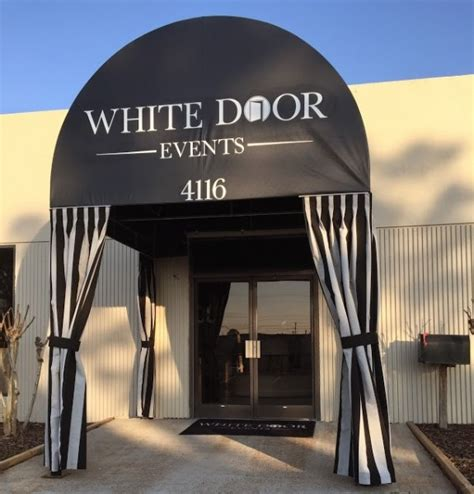 White Door Events white door events awning by delta tent awning company