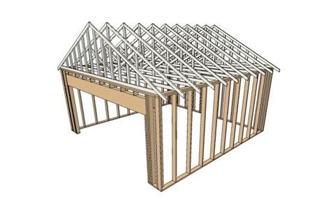 a frame building plans building wood frame garage framing house plans 24373