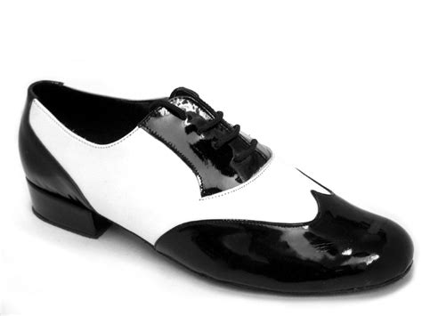 vf m100101 l618 10 black patent and white leather