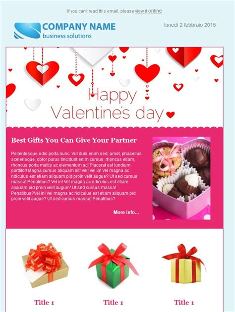 valentines email 10 9 free s day email templates