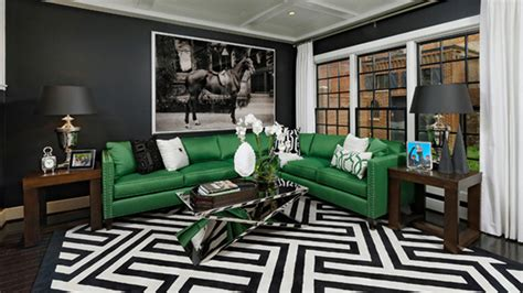 black and green living room 20 gorgeous black and green living rooms home design lover