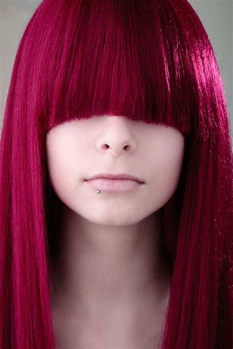image gallery raspberry hair