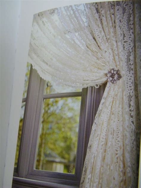 feminine curtains lace curtains annabelle pinterest french doors