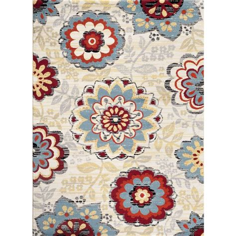 how big is 2 x 3 rug world rug gallery transitional large floral design 2 ft x 3 ft indoor area rug 311