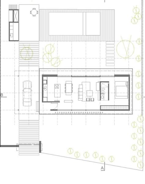 countryside house design open to outdoors horizontal house plan in argentine countryside digsdigs