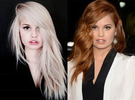 debby hair color debby goes blond see the s new platinum