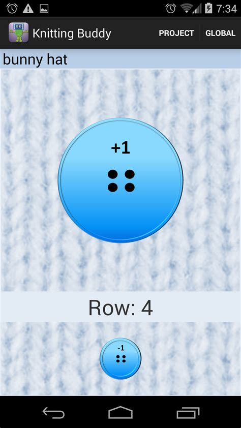 knitting row counter app knitting buddy row counter es appstore para android