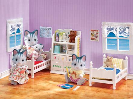 sylvanian childrens bedroom set children s bedroom set calico critters