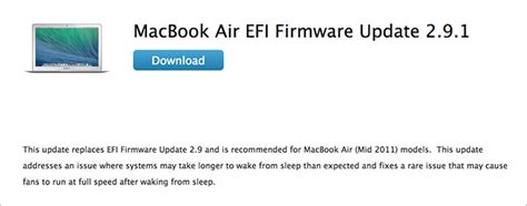 Pt Mba Xl by Apple Reissues Macbook Air Efi Update After Resolving