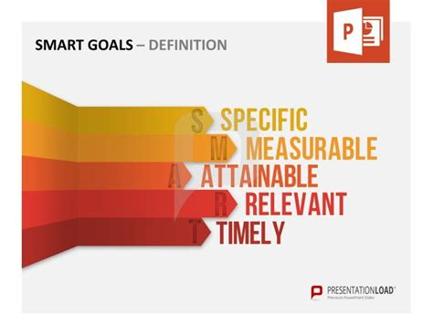 70 Best Smart Goals Powerpoint Templates Images On Pinterest Role Models Template And Define Template In Powerpoint