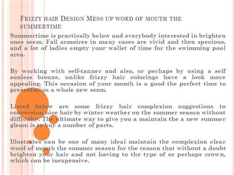 word document layout messed up frizzy hair design mess up word of mouth authorstream