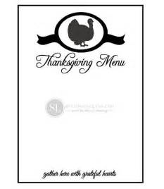 thanksgiving menu template printable printable thanksgiving menu template