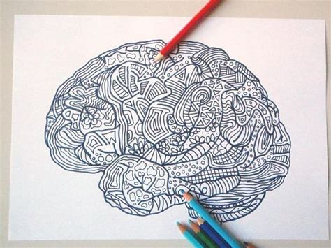 anti stress colouring book for adults brain science 6961 best etsy promotions images on etsy