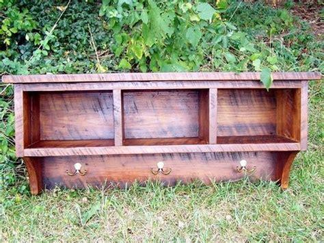 reclaimed rustic three cubby entry buy a handmade reclaimed barnwood coat rack cubby shelf