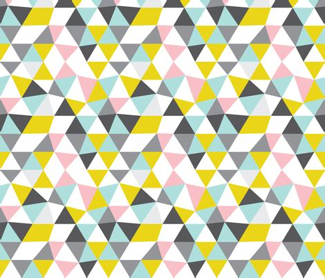 quirky pattern fabric quirky geometric pastels triangle wallpaper
