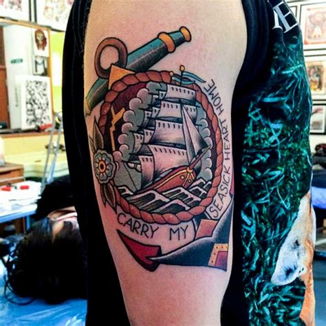boat anchor tattoo meaning 43 most popular anchor tattoos designs and their meanings