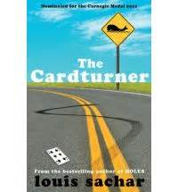 the cardturner book review the cardturner by louis sachar read in a single sitting book reviews and new books