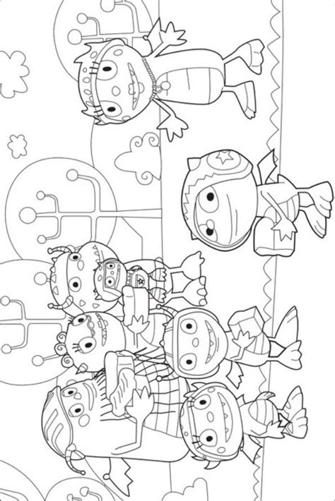 henry hugglemonster coloring pages coloring home