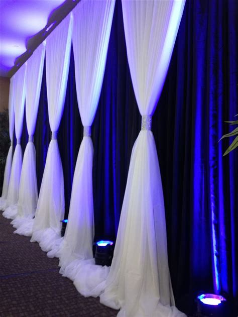 backdrop drapes for weddings wedding backdrop wedding draping bello pinterest