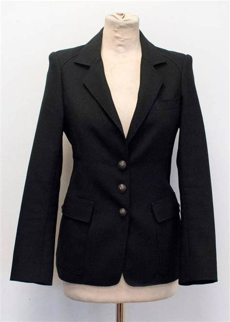 More Breasted Blazers Like That Balenciaga One by Balenciaga Black Blazer For Sale At 1stdibs