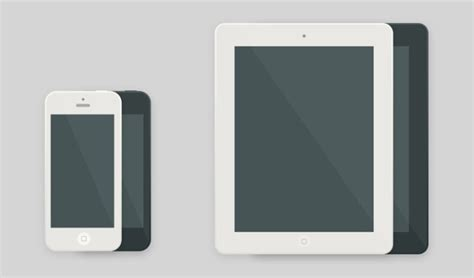 flat design ipad mockup free flat and minimal ipad and iphone mockup