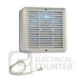 humidity controlled extractor fan manrose xf150hp 150mm wall ceiling fan humidity control
